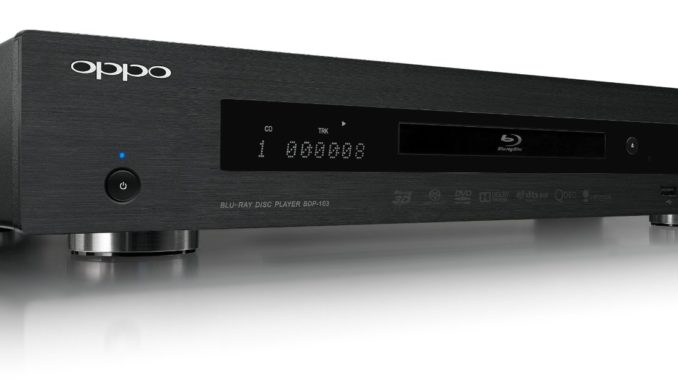 Opposition Blu Ray Player BD 103